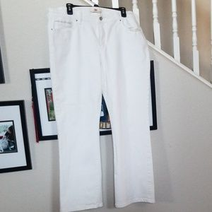 Levi's 512 Pefectly Shaping white jeans 20